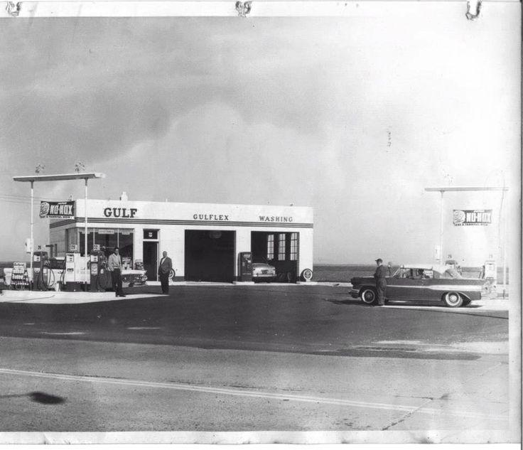 Car Service Savannah >> Brigantine Beach NJ Gulf Gas station black&white   Stations   Pinterest   Black white, Classic ...