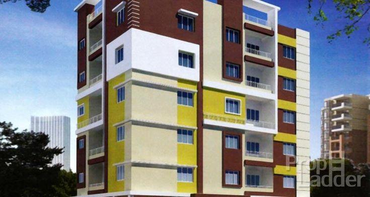 2BHK luxury apartment at HMTS Swarnapuri colony.