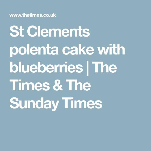 My Nan S St Clements Cake