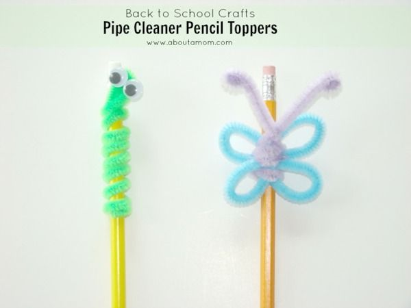 Adornos para lápices
