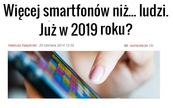 #Ericsson podaje ciekawe prognozy dotyczące ilości smartfonów na świecie w nadchodzących latach. Przewidywany jest też ciągły niesłabnący wzrost ruchu w sieciach mobilnych. Czy to oznacza, że w następnych 5 latach smartfony staną się dla nas niezbędnym życiowym elementem?