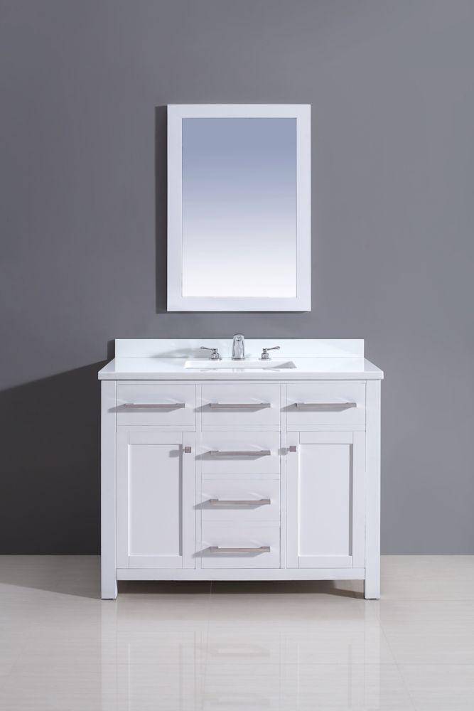 Best 25 42 Inch Vanity Ideas On Pinterest 42 Inch Bathroom Vanity Single Bathroom Vanity And