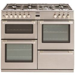 Belling DB4 100DFT PROFESSIONAL 100cm Wide Dual Fuel Range Cooker - Stainless Steel