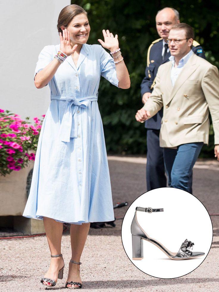 Victoria von Schweden trägt Schuhe von H&M