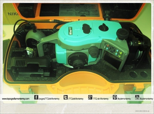 Total Station Nivo #Nikon