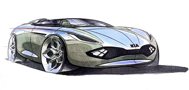 Sketches for KIA on Behance