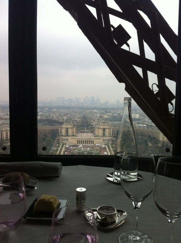 Best dinner with a view ever :-) Eiffel Tower