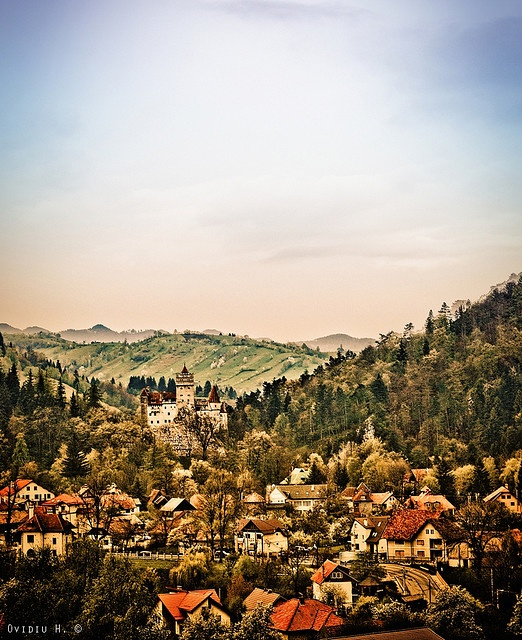 Visit Bran and take a walk in Dracula's castle.  ~ Bran, Romania.