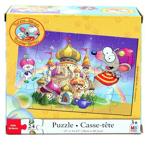 Toopy and Binoo 24 Piece Puzzle [Castle]$7.99