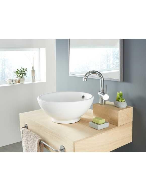 Aufsatz Waschbecken Rund 40 Cm Durchmesser Waschbecken Rund Waschbecken Badezimmer