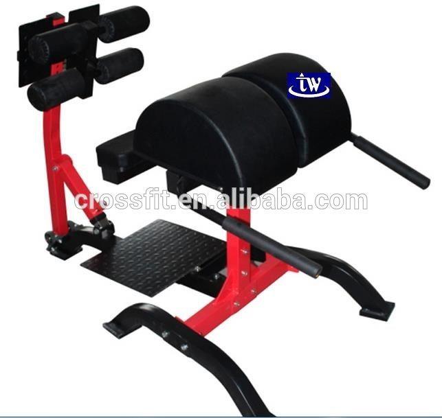 Glute ham développeur / équipement de Crossfit chaise romaine / Fitness gym banc