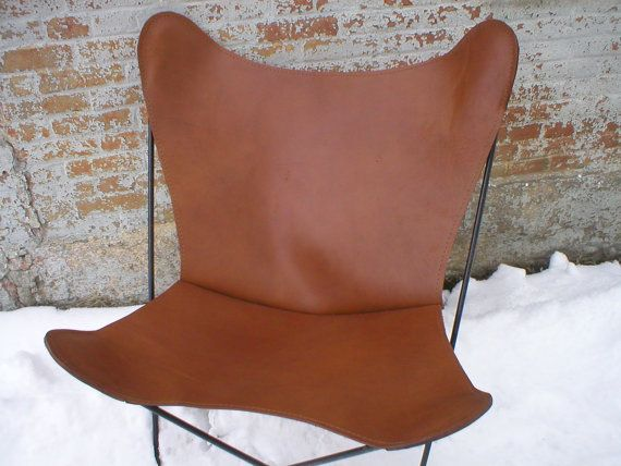 Handmade Rugged Latigo Leather BUTTERFLY CHAIR COVER Your Color Choice On  Etsy, $189.10 CAD