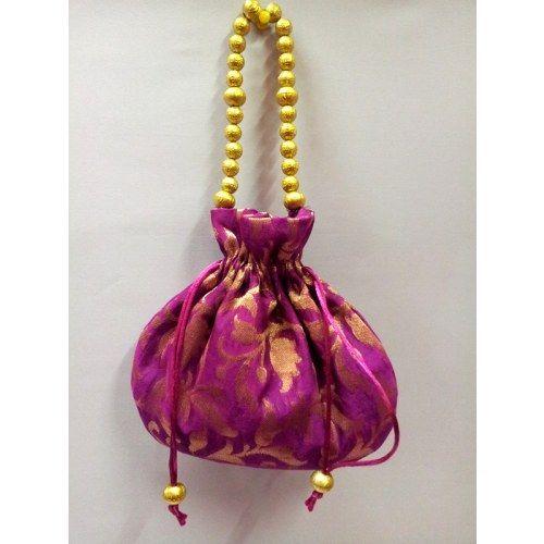Velvet Potli Bag