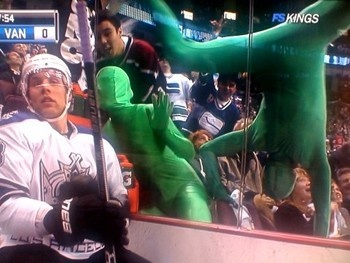 The Green Men of the Vancouver Canucks fanbase