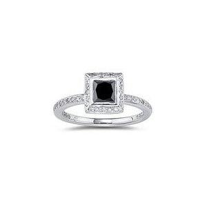 black diamond ring