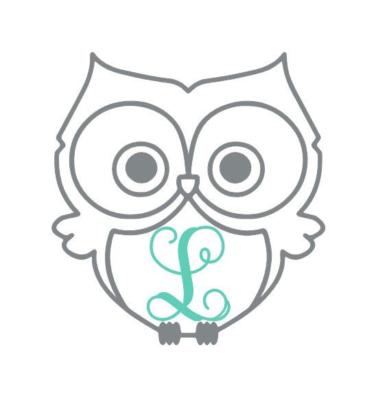 Owl Vinyl Decal, Vine Monogram, Car Decal, Laptop Decal, Yeti Tumbler Decal, Yeti Decal, Yeti Personalized, Gifts for Her, Owl Decor by LeslieScraps on Etsy https://www.etsy.com/listing/252603227/owl-vinyl-decal-vine-monogram-car-decal