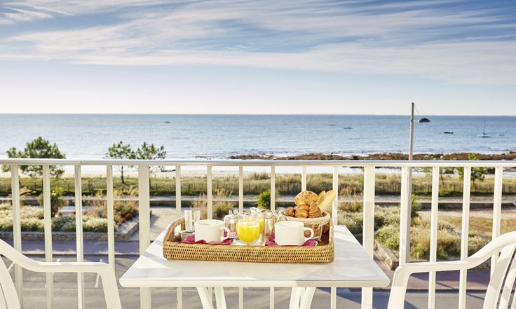 Hotel Le Plancton in Carnac, France #hotel #brittany #seaview #balcony