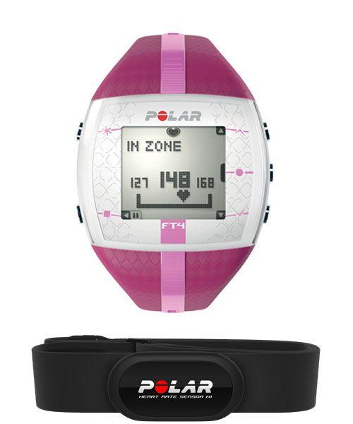 Polar FT4 Fitness Women's Heart Rate Monitor Purple Pink 90042864