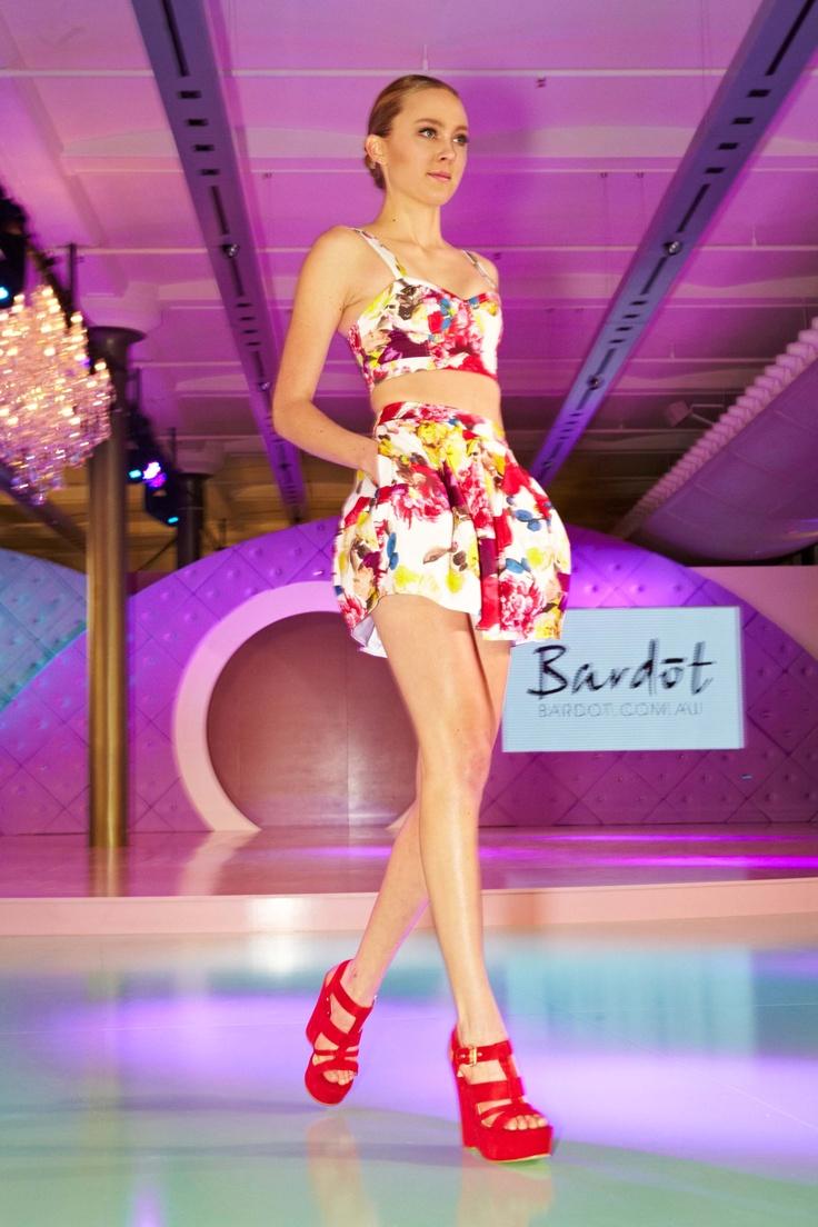 Poppy florals from Bardot @ 30 days of Fashion & Beauty
