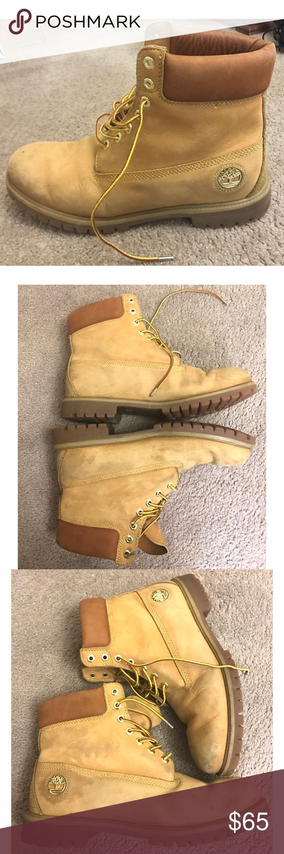 Timberland (Timbs) Men Boot 13M Wheat Nubuck Timberland MEN BOOTS 13M Wheat Nubuck Waterproof and Insulated . Boots are a bit worn but overall solid condition. Timberland Shoes Boots