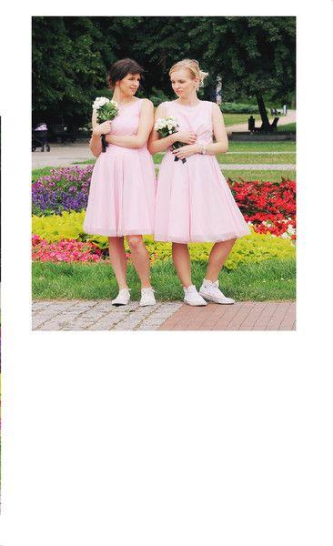SUPER TIULOWA SUKIENKA nie tylko dla druhny - B_A_B_S - Sukienki