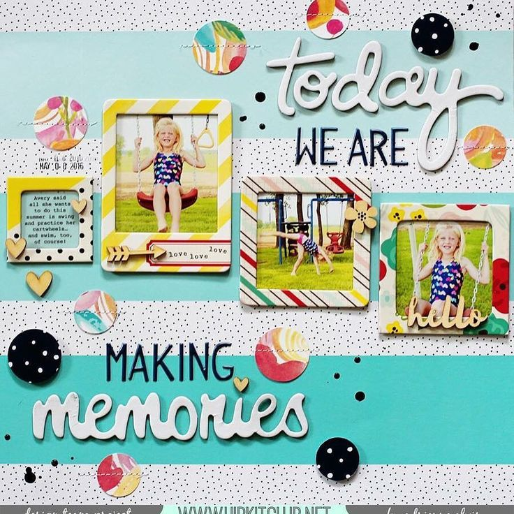 #papercrafting #scrapbooking #layout - by Adriene E.