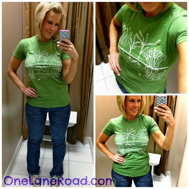 Skinny Meg having a giveaway for a shirt from One Lane Road!