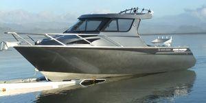 730 Sports Hardtop - White Pointer Boats : custom alloy boat builders, aluminium boats, fishing boats, aluminum boats, boat designers, boat repair, boat sales, new boats, used boats
