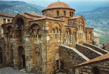 Late byzantine architecture katholikon hosios lukas for Architecture byzantine