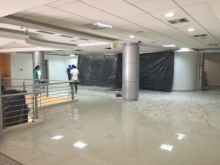 Proyecto de rediseño interior del edificio Mushuc Runa en Ambato. Diseño: Arq. Mg. Santiago Suárez Abril. E&S Suárez Arquitectos.