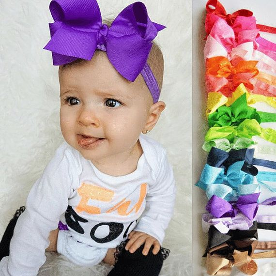 Baby headbands, PICK 5, girl headband, baby girl headband, girls headband…