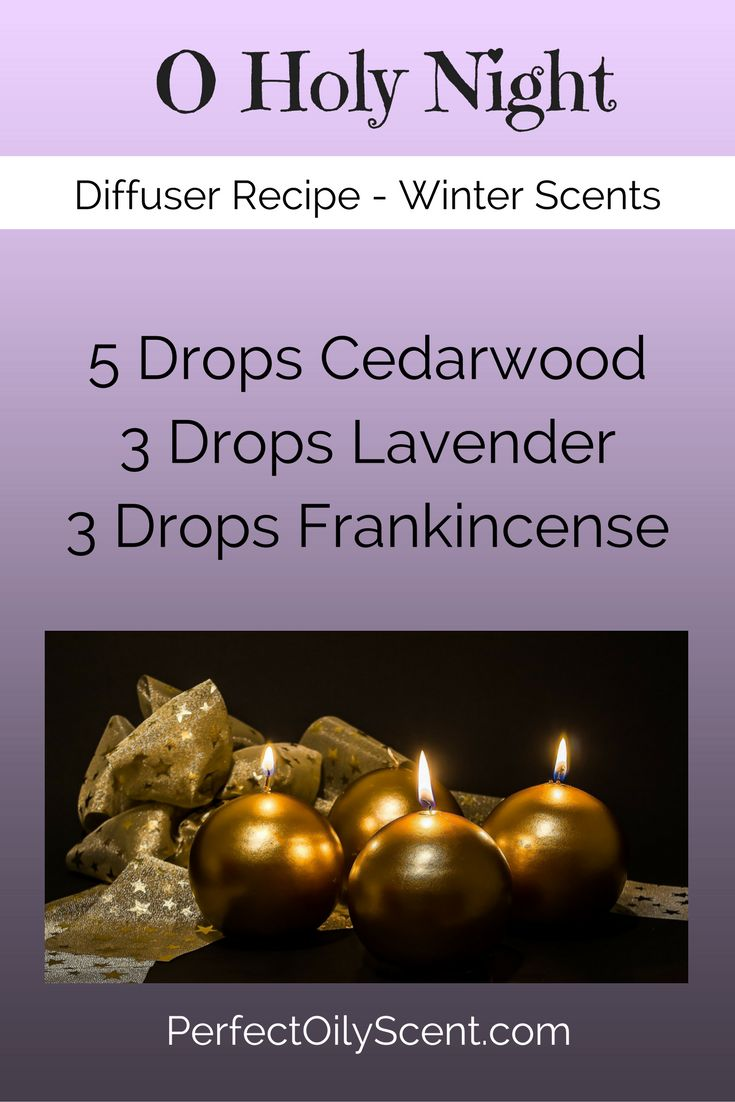 'Tis the season! Fill your home with the scents of winter: Essential Oil Diffuser Recipe