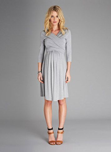 Emily Maternity Dress | Isabella Oliver- so cute! Even if you're not prego...