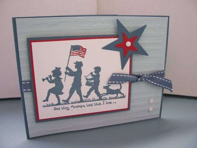 "... su Pinterest   Carte maschili, Carte ""stampin up"" e Memorial day"