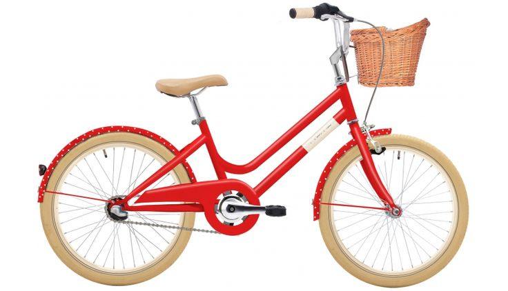 Creme Mini Molly 20 - Vélo enfant - 2-speed automatix rouge