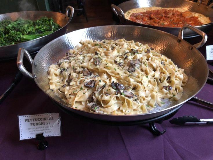 Fettuccini Al Funghi Buffet Mia S Italian Kitchen Private Event Italian Kitchen Italian Recipes Authentic Italian Restaurant