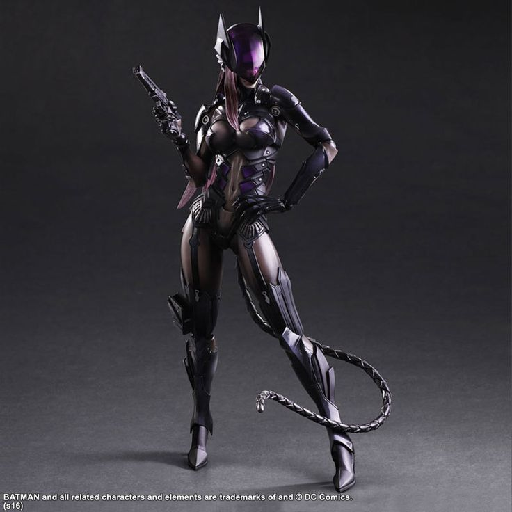 Catwoman Action Figure Playarts Kai Model Anime Toys Movie Bat Man Play Arts Kai 260mm http://s.click.aliexpress.com/e/BQFEUFE