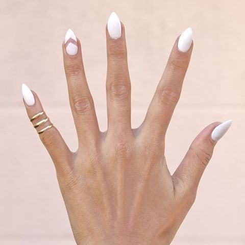 White Nail Art Ideas You Should Wear Well Before Memorial Day