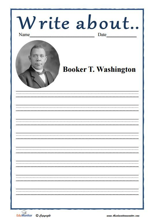 booker t washington writings Booker t washington high school for the performing and visual arts  creative writing club debate film club  booker t student sam wood has been selected.