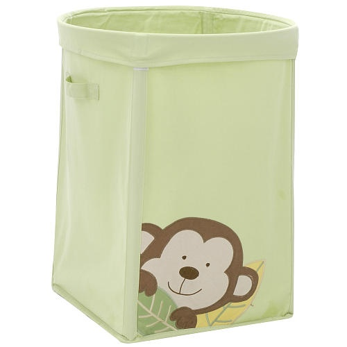 1000 images about baby room on pinterest - Monkey laundry hamper ...
