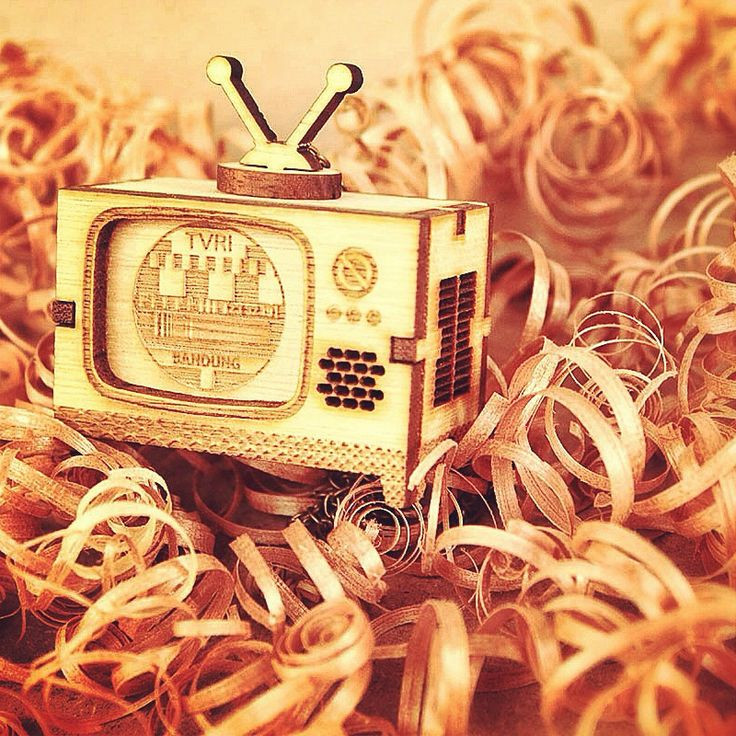 """Wooden TV Puzzle"" #schon #wood #wooden #gift #birthday #wedding #lasercutting #handmade"