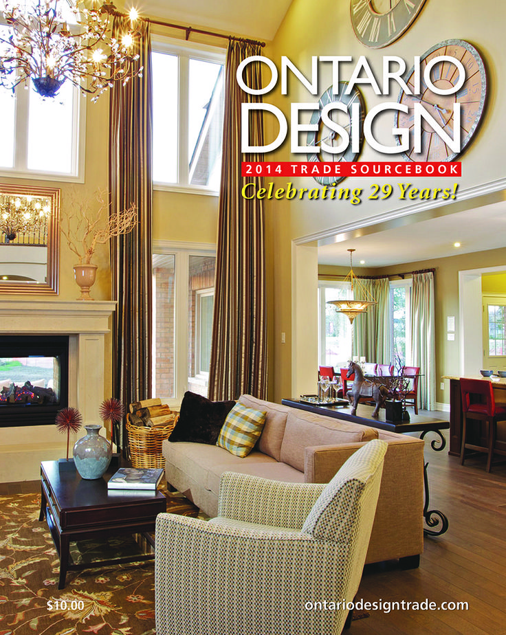 The latest annual issue of ONTARIO DESIGN is now online to read for FREE! Find the resources you need for your next interior design or renovation project! http://digital.ontariodesigntrade.com/2014/2014_Trade_Sourcebook/?1