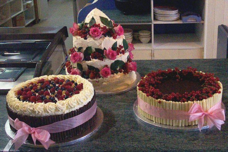 3 Chocolate Cherry Cake