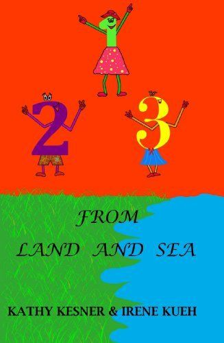123 From Land And Sea A fun way to learn the numbers with rhymes and pictures. Only $0.99 Click Here: www.amazon.com/dp/B00520C7I6/ #ebook #book #children #123 #pictures
