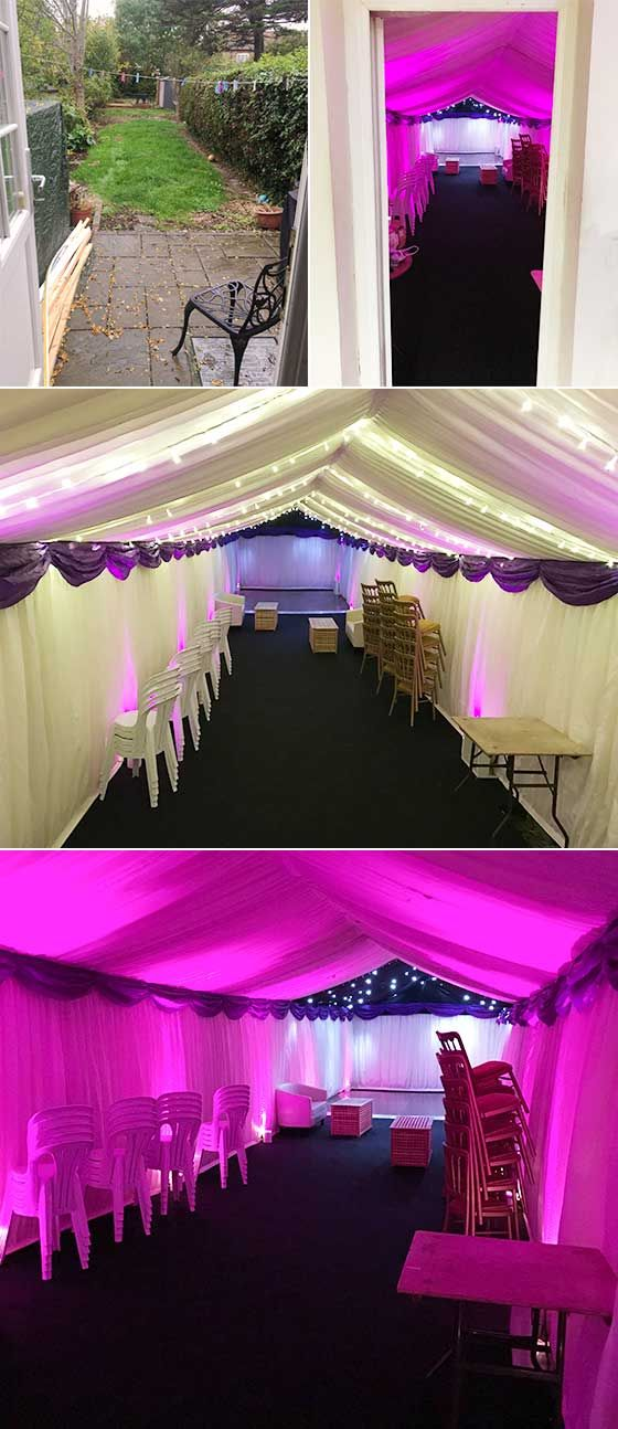 17 best images about marquee party ideas on pinterest for Indoor marquee decoration