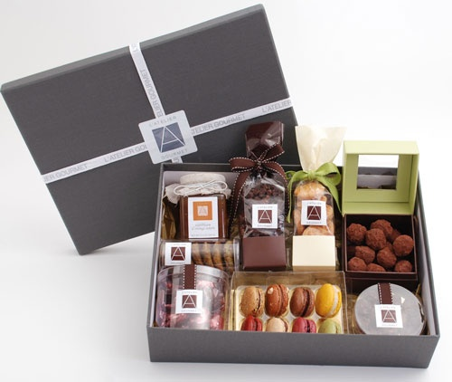 Gourmet gift baskets from Atelier Monnier