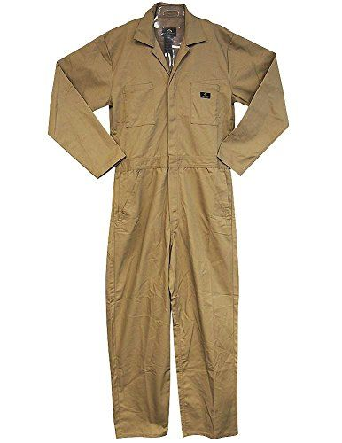 Natural Workwear - Mens Long Sleeve Basic Blended Coverall, Khaki 38102-Large NATURAL WORKWEAR http://www.amazon.com/dp/B0155G6BTM/ref=cm_sw_r_pi_dp_S0ukwb1MS5AY8