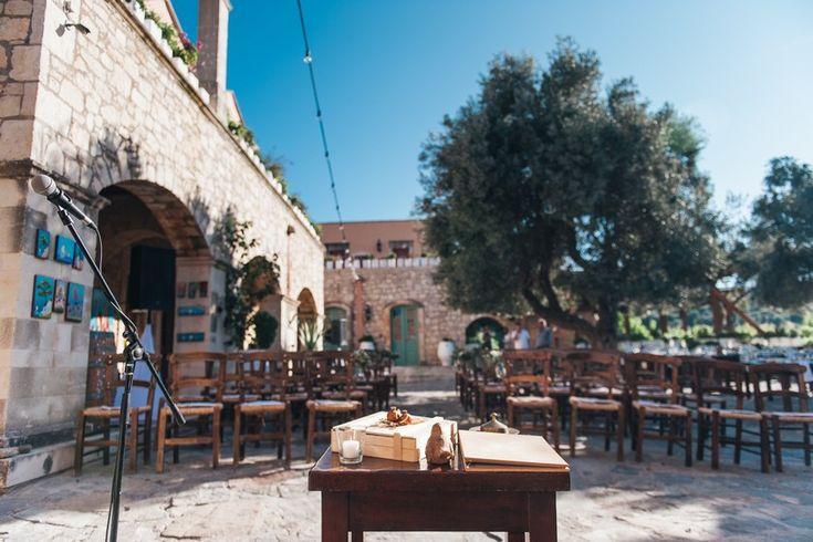 Rethymnon private farm rustic wedding in Crete | Crete for Love  Private estate in Crete for the village style wedding