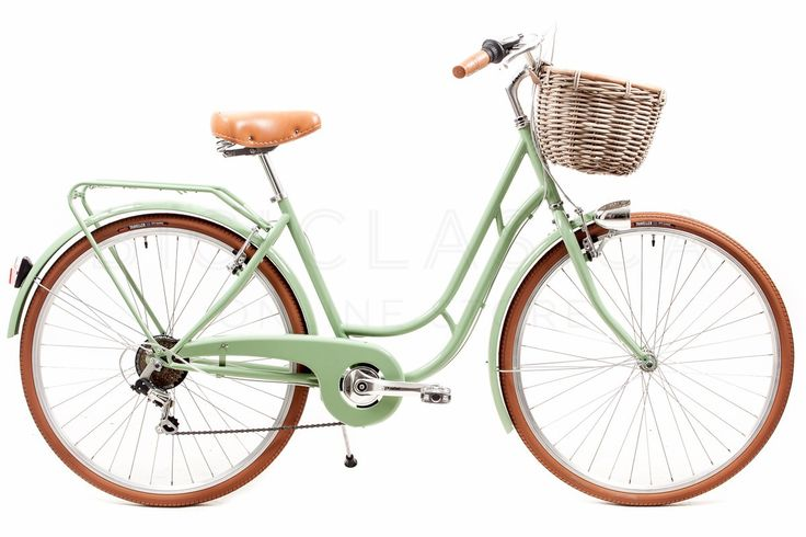 Bicicleta de Paseo Capri Berlin Verde-Marrón 6v