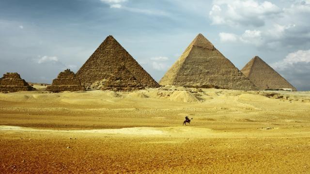 Mysterieuze 'hittevlekken' ontdekt op Egyptische piramides | NU - Het laatste nieuws het eerst op NU.nl